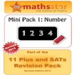 11 Plus & SATs Maths Topic Pack - Number