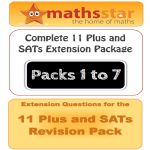 11 Plus & SATs Maths Complete Extension Pack