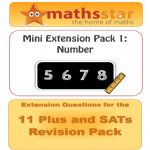 11 Plus & SATs Maths Extension Pack - Number
