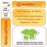 KS2 SATS Fractions, Decimals, Percentages and Algebra Pack