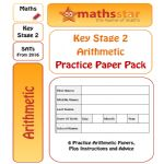 KS2 SATS Arithmetic Practice Test Pack