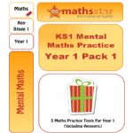 KS1 Mental Maths Practice - Year 1 Pack 1