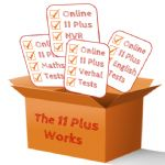 The 11 Plus Works Test Pack (Maths  English, Verbal Reasoning & Non Verbal Reasoning)