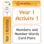 Year 1 Activity 1 – Numbers And Words Card Pairs