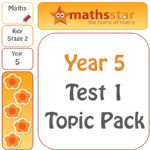 Year 5 Test 1 Maths Topic Pack - New National Curriculum