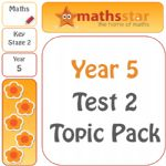 Year 5 Test 2 Maths Topic Pack - Easter Sale