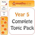 Year 5 Complete Maths Topic Pack - Easter Sale
