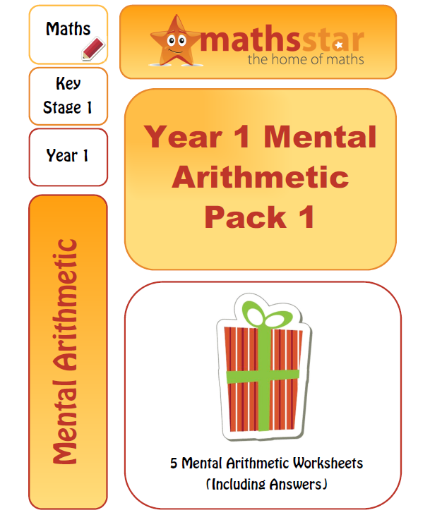 Year 1 Mental Arithmetic Test pack
