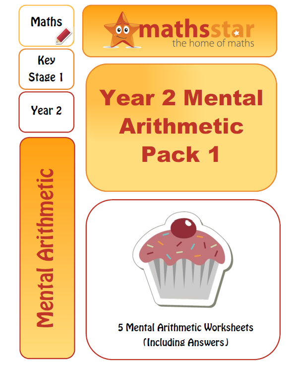 Year 2 Mental Arithmetic Test Pack